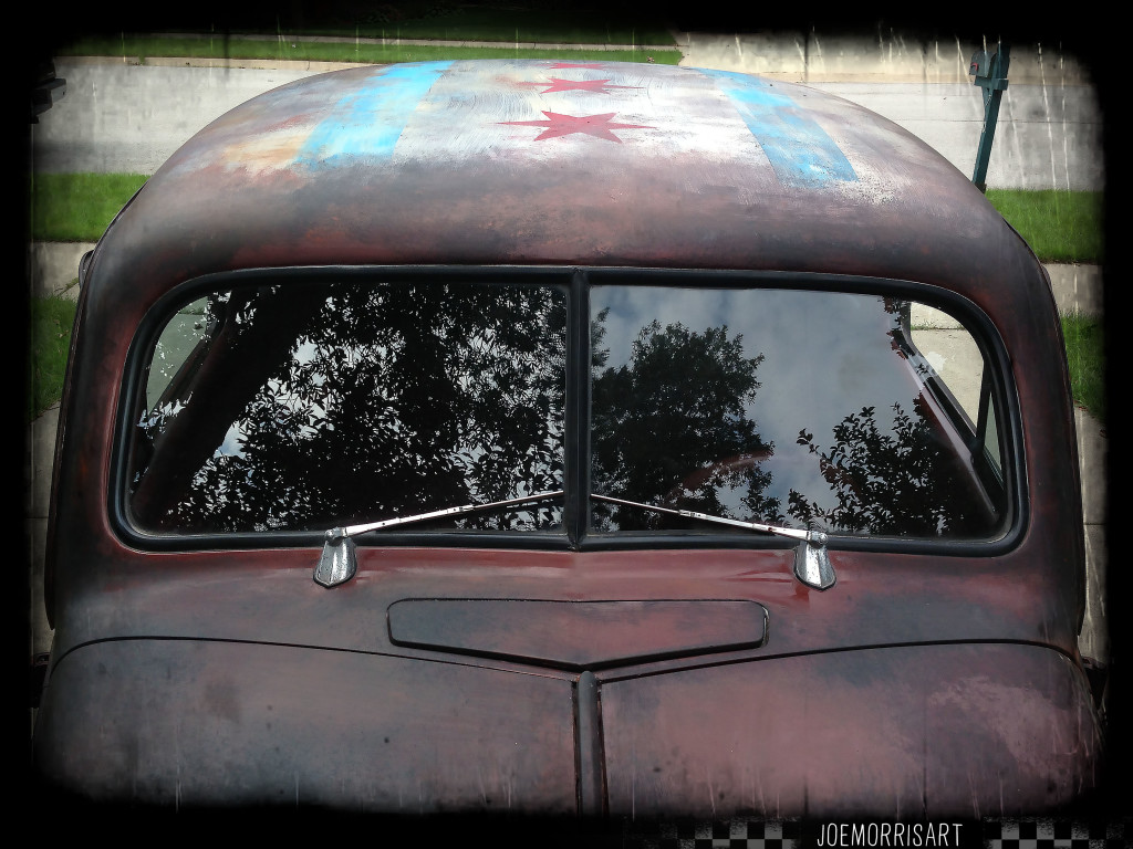 37_chevy_front_joemorrisart_roof