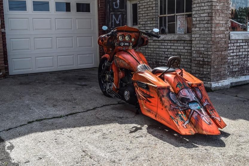 The Dirty Rat. You want radical custom paint Joe Morris aka Moto is where its at.