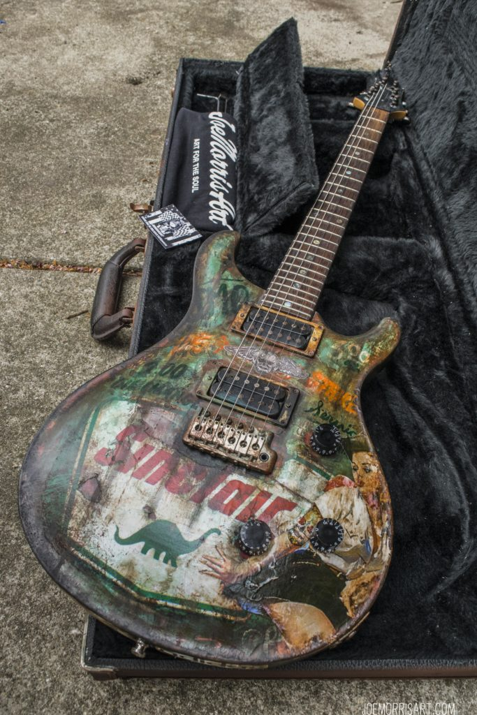 "For Sale 1991 PRS SE 24 JMArt Custom ""Sincalir"" $3,500. Paypal to joe33morris@yahoo.com"